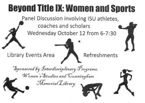 Beyond Title IX panel discussion