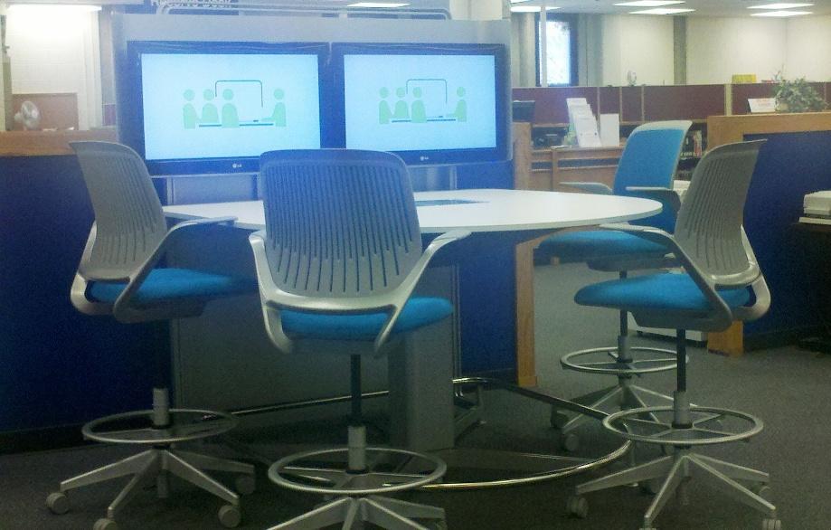 Finished media:scape set-up