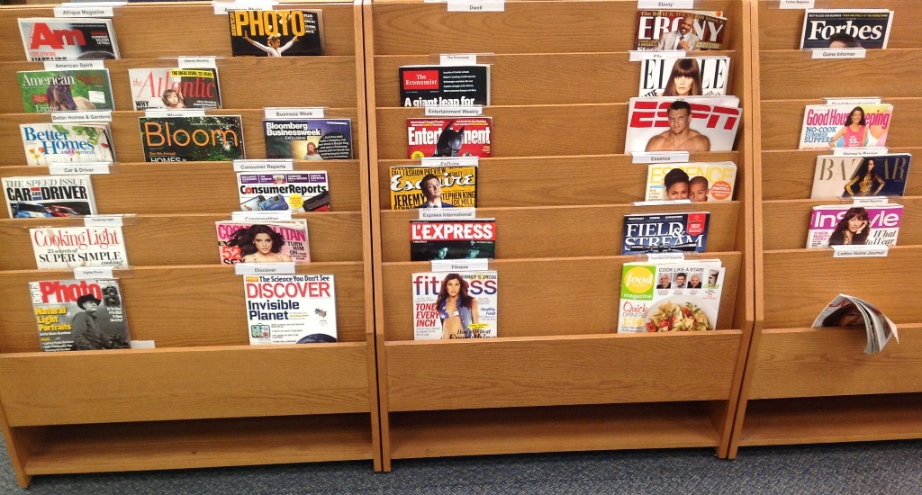 Browsing - Current Issues of Popular Magazines