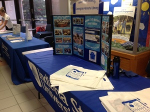 Library Resource Table for New Student Orientations - HMSU