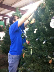 Decorating a tree