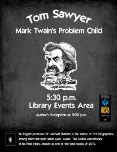 Tom Sawyer: Mark Twain's Problem Child - Library Events Area - Feb. 28