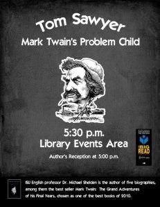 Tom Sawyer: Mark Twain's Problem Child - Library Events Area - Feb. 28