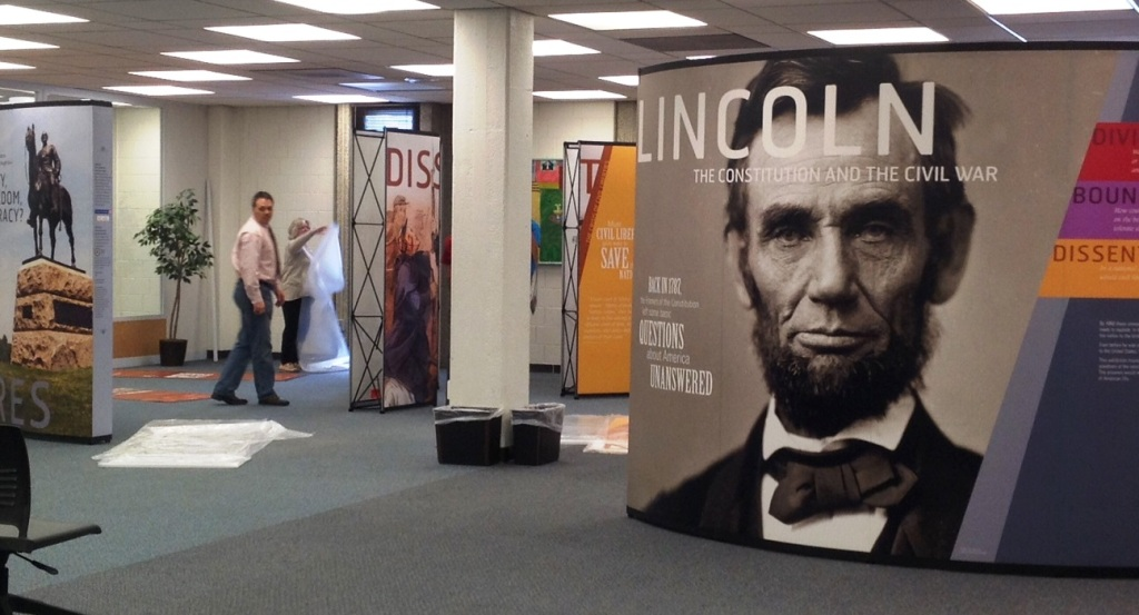 Exhibit Title Panel: Abraham Lincoln