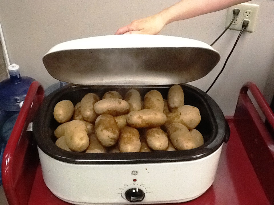 The Potatoes are a-Cookin'