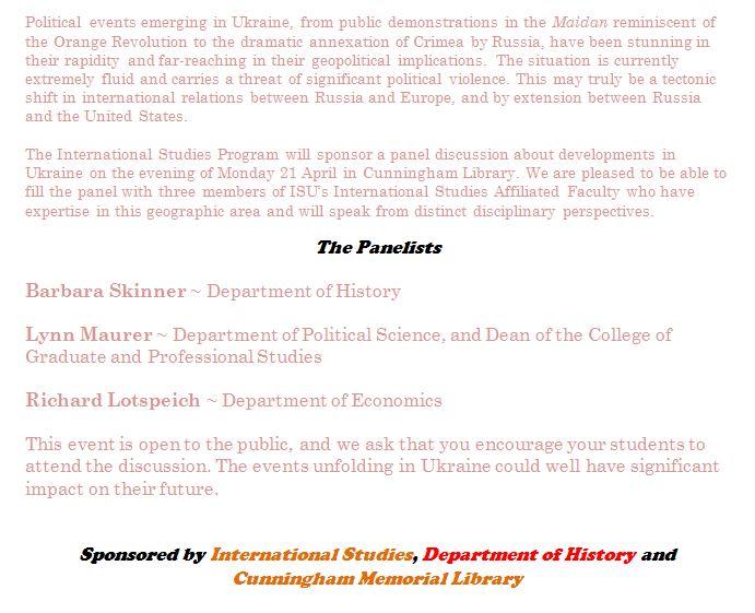 Ukraine Panel