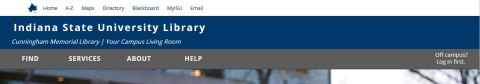 homepage header