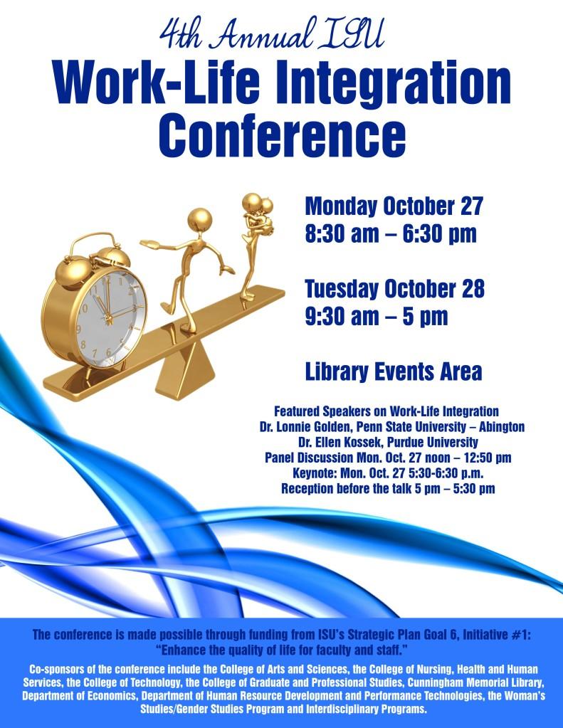 2014 ISU Work-Life Conference
