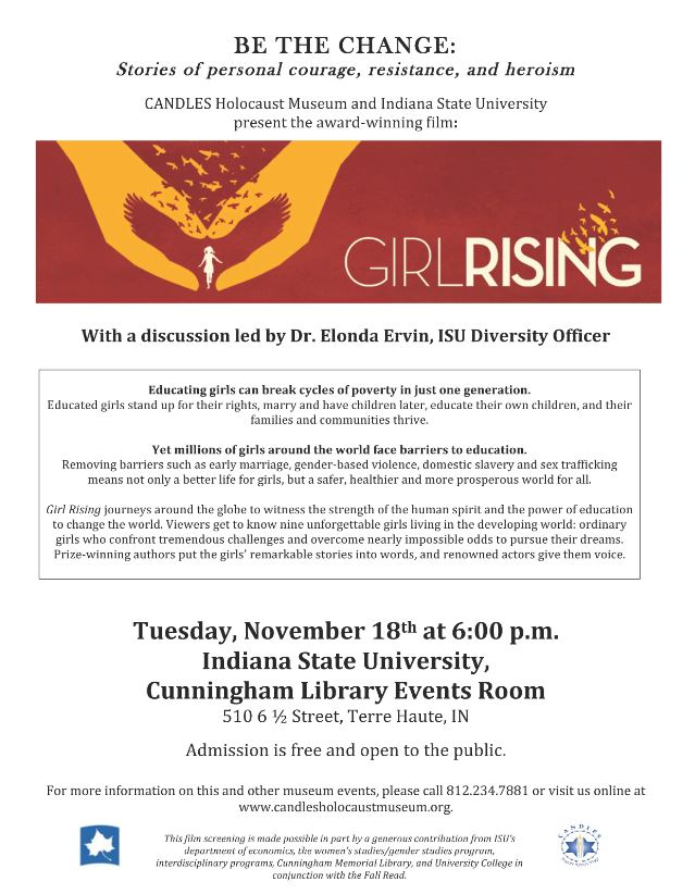 Girl Rising: Film and Discussion