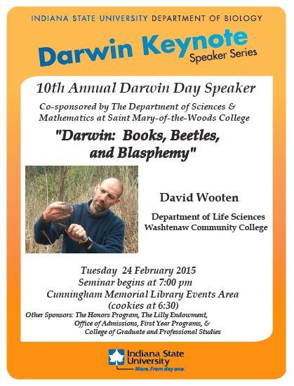 Darwin with David Wooten